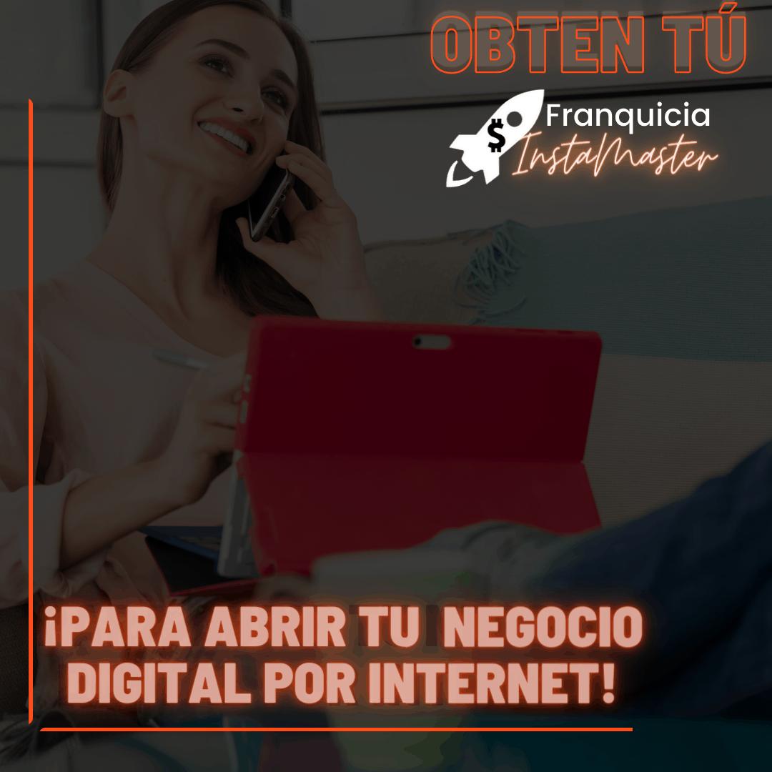 Franquicia Digital Instamaster