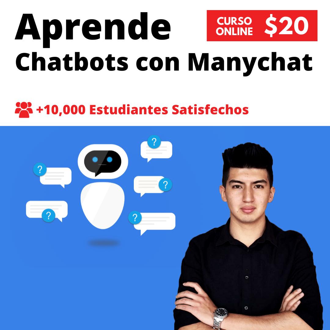 Curso Chatbots con Manychat