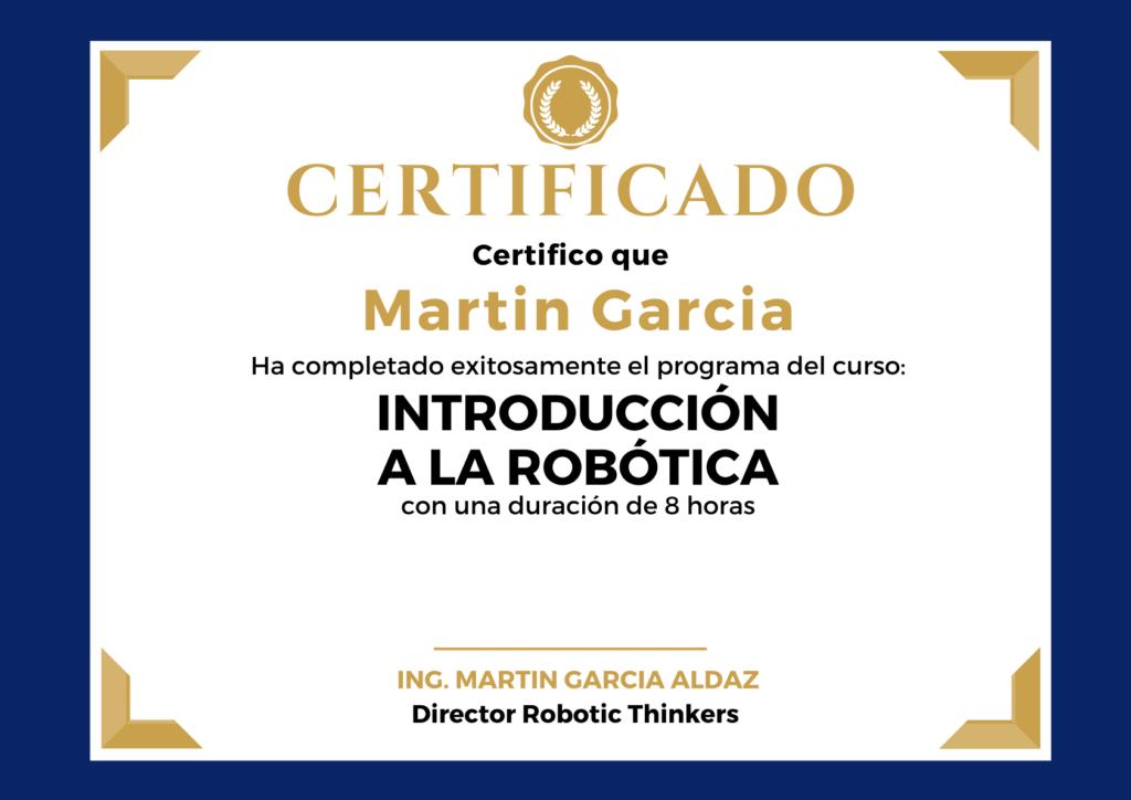 Curso Robotica para Niños