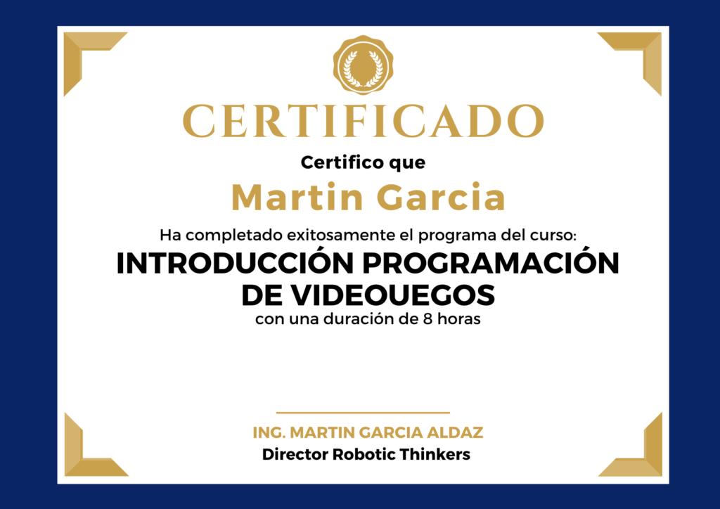 Curso Programacion de Videojuegos