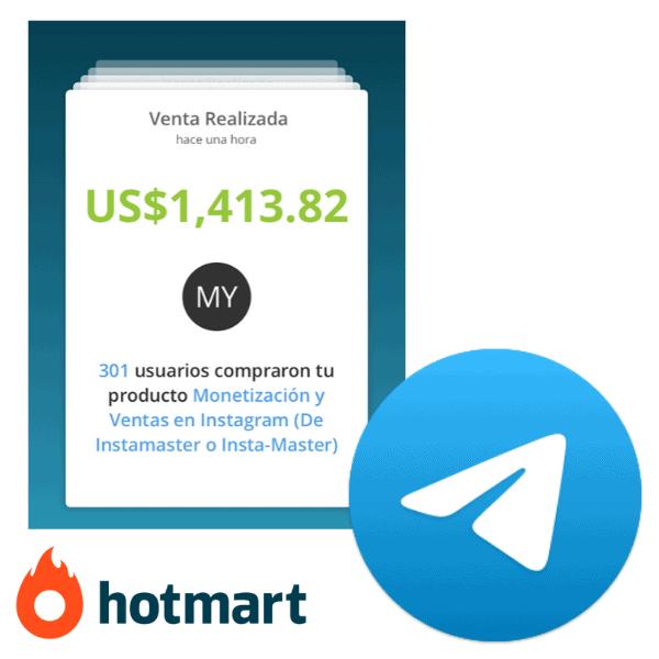 Grupo Telegram Hotmart