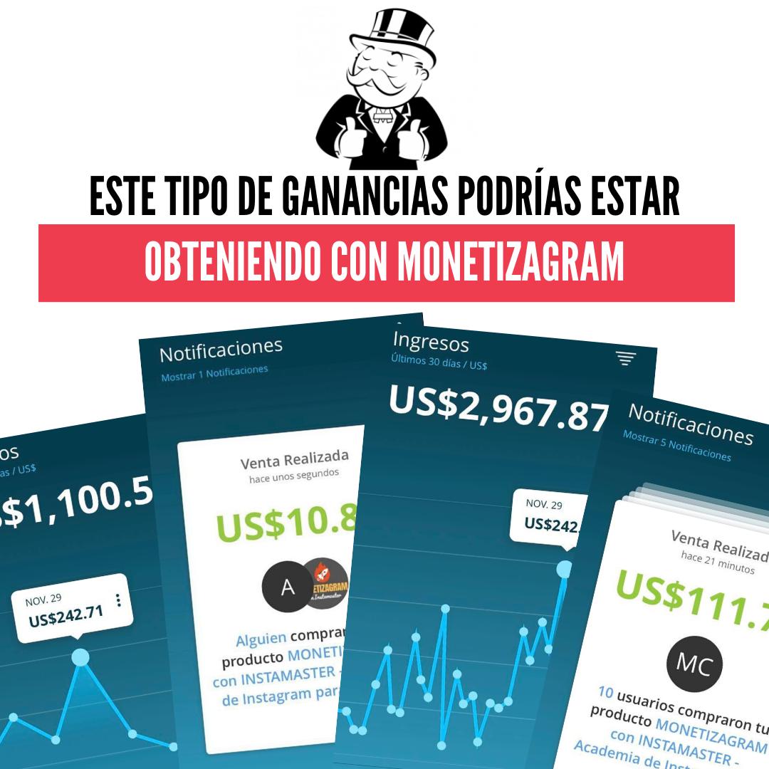 ESTE TIPO DE GANANCIAS PODRÍAS ESTAR OBTENIENDO CON EL MARKETING DE AFILIADOS (1)