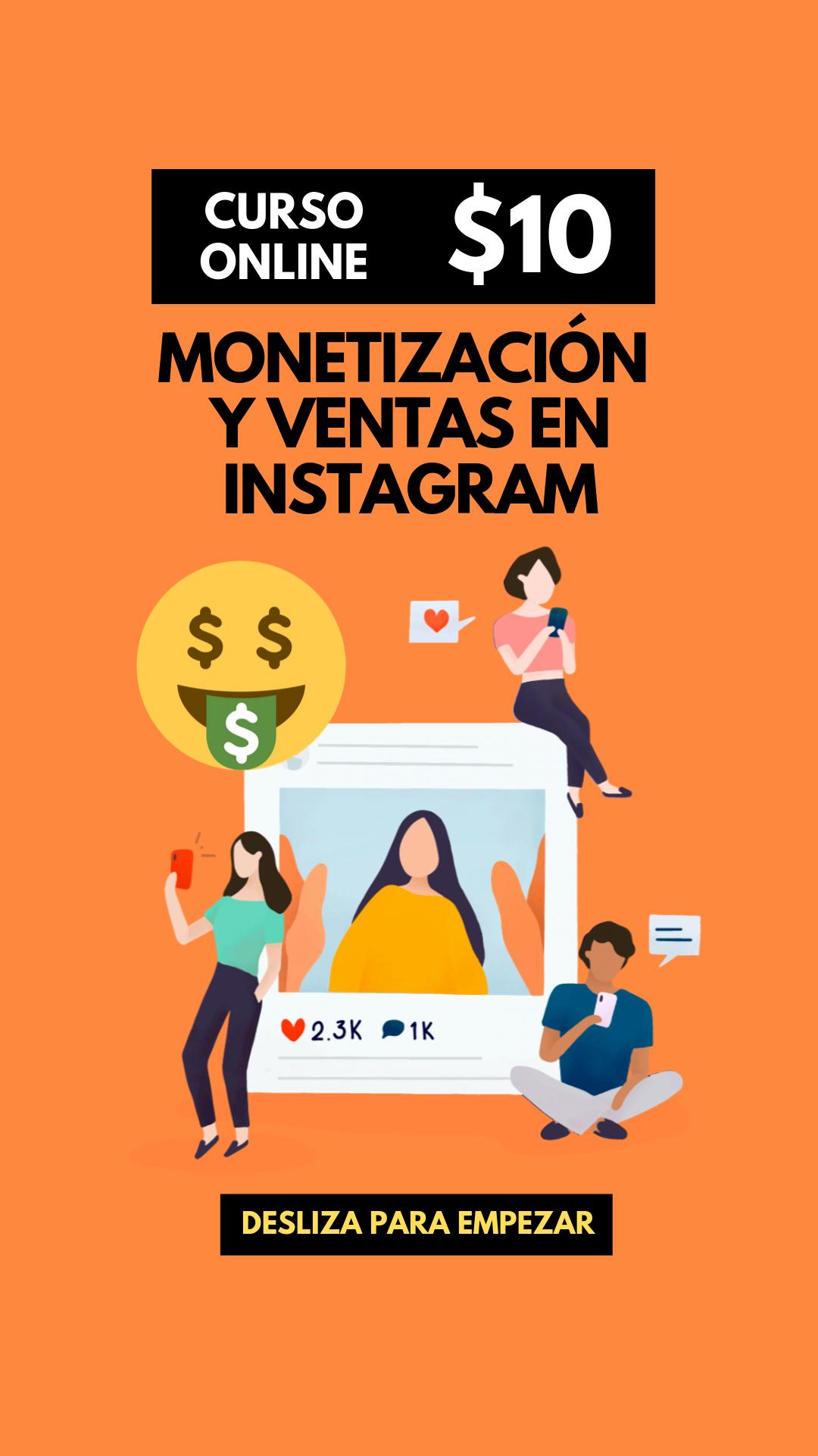 Monetizacion y Ventas Instagram