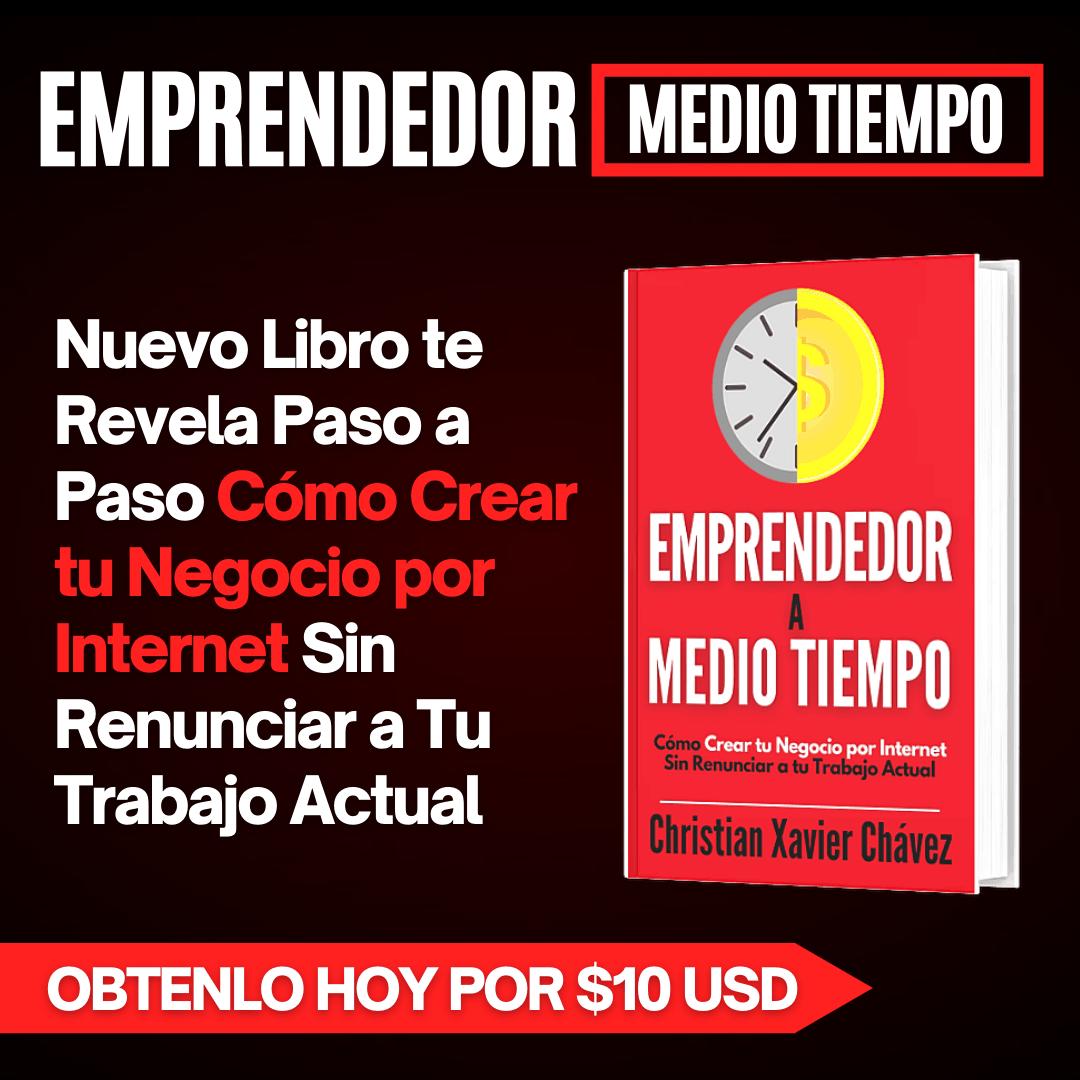 Libro Emprendimiento Christian Xavier Chávez