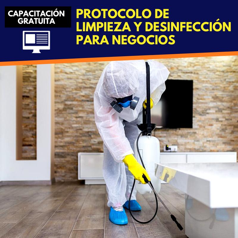 Protocolo Limpieza y Desinfección