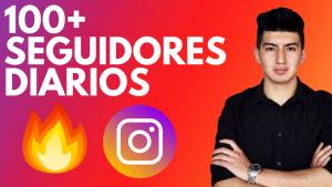 100 seguidores diarios en Instagram