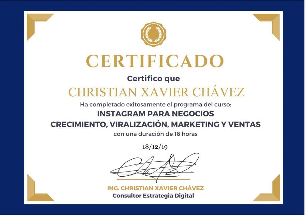 certificado completo