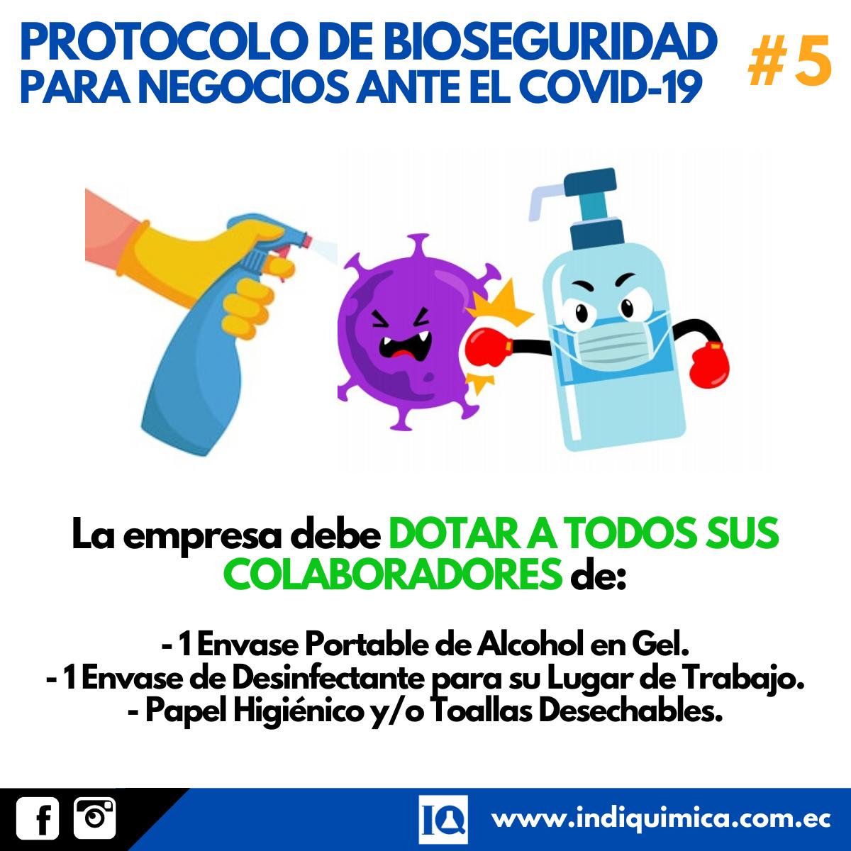 Protocolo COVID-19 Coronavirus