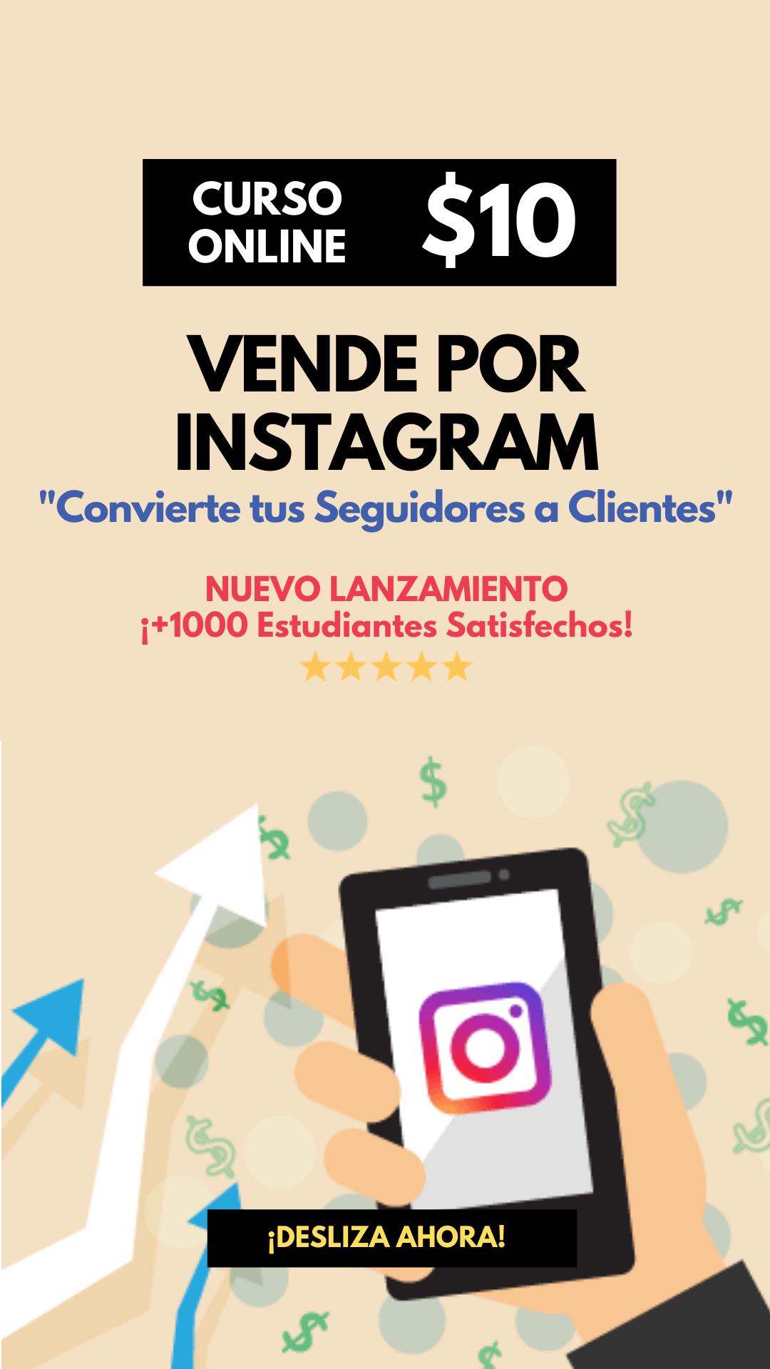 Instamaster Curso de Monetización y Ventas en Instagram